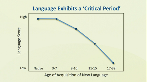 age and language