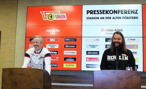 Christian Arbeit Jens Keller Union Berlin Eintracht Braunschweig