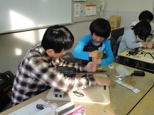手づくり発電教室