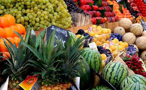 prix des fruits et légumes