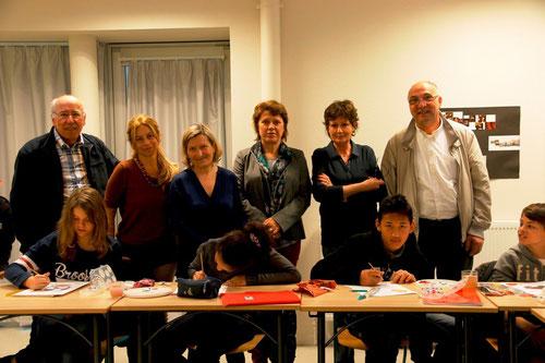 derniere des 4 séances d'animation d'ateliers avec des 5èmes du collège de Balma (31)