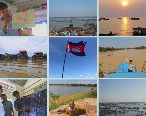 トンレサップ湖|カンボジア旅行|オークンツアー|現地ツアー