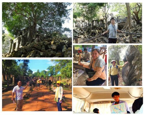 ベンメリア遺跡|カンボジア旅行|オークンツアー|現地ツアー