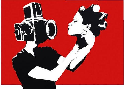 NAFIR  Selfie (red). 2014