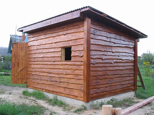 сарай садовый деревянный