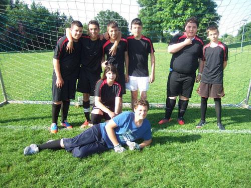 Die Mannschaft der Albert-Schweitzer-Schule