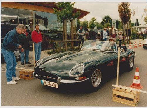 WP Autohaus OSTER - Hans-Peter Keller auf JAGUAR E-Type