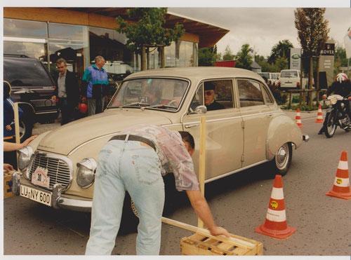 WP Autohaus OSTER - Herbert und Margrit Rössler mit ihrem DKW 1000