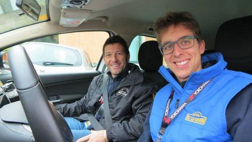 Rechts unserer langjähriger Kontaktmann vom Veranstalter, der sehr nette Matteo Bellamoli.
