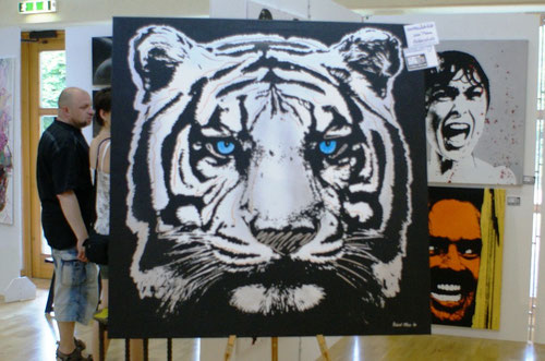 Wettbewerbsbeitrag Michel Friess, Kaiserslautern: weißer Tiger - ausgestorben seit 1958