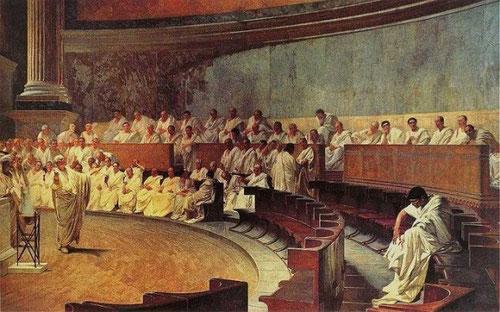 Le Sénat de Rome