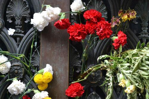 Mausoleo de la Familia Duarte en el cual descansa Eva Perón