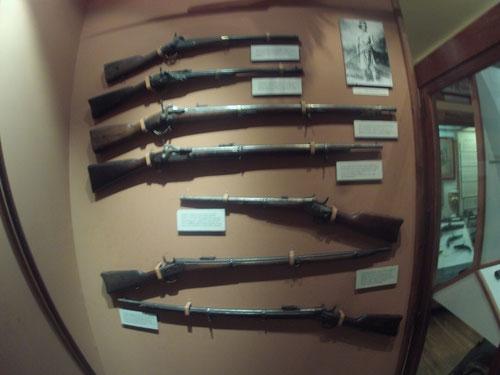 Armas usadas en la Conquista del Desierto