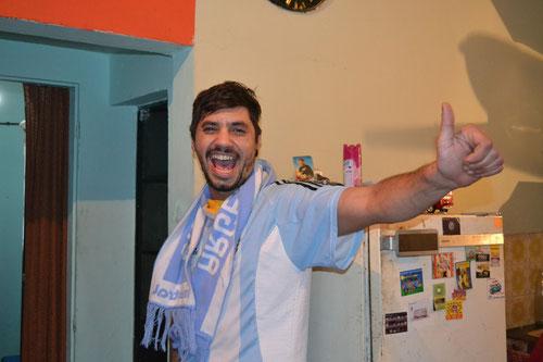 Mariano listo para el partido Argentina vs Bosnia