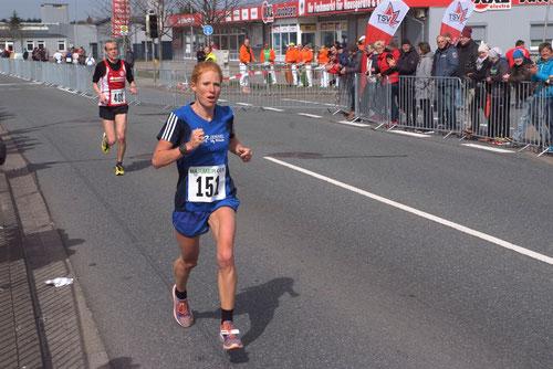 Langstrecklerin Jana Groß-Hardt hofft darauf, bis zum 20. Bocholter Citylauf am Samstag wieder fit zu sein.