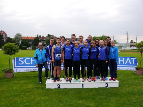 Die LAZ-Athleten und -Betreuer genießen jährlich zu Pfingsten die wohlwollende Gastfreundschaft des österreichischen Partnervereins.