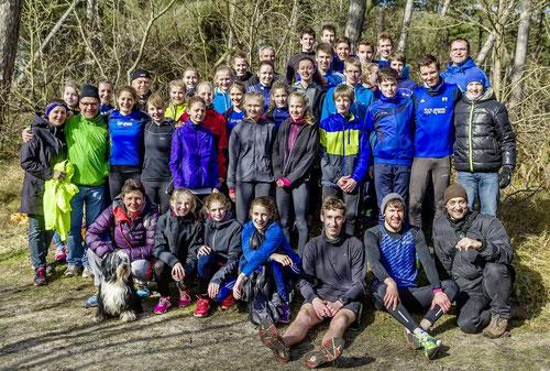 Die LAZ-Athleten genossen die abwechslungsreichen Trainingstage auf Texel.