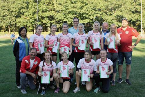 Die erfolgreichen Landesmeisterinnen der weiblichen U18