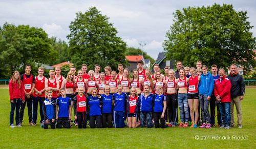 Stark durch Gemeinschaft: Die StG Rhede-Sonsbeck-Wesel ist mit allen Altersklassen im Finale vertreten.