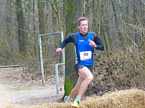 Marcel Ecksers ließ der Konkurrenz im 7300-m-Hauptlauf keine Chance und gewann souverän in 23:40 Minuten.