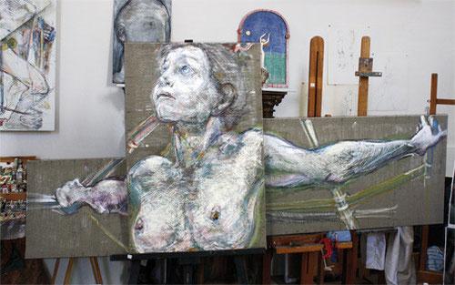 Galerie d'art Jean-François Comte, proche de Paris, dans l'Oise