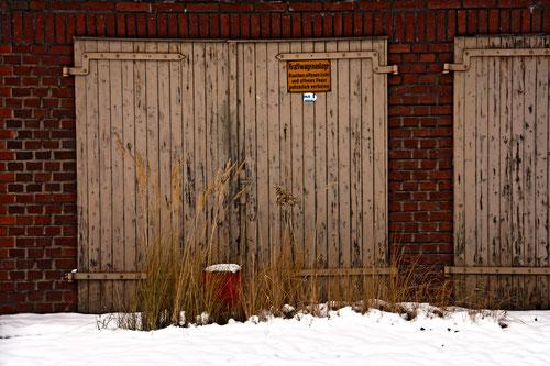 Garagenhof immer freihalten