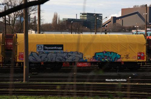 ThyssenKrupp Güterwagen
