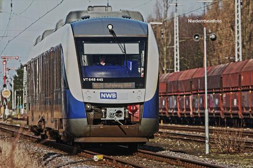 NordWestBahn VT648 455
