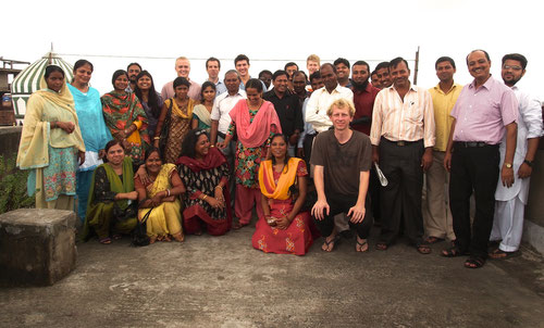 team in Kolkata