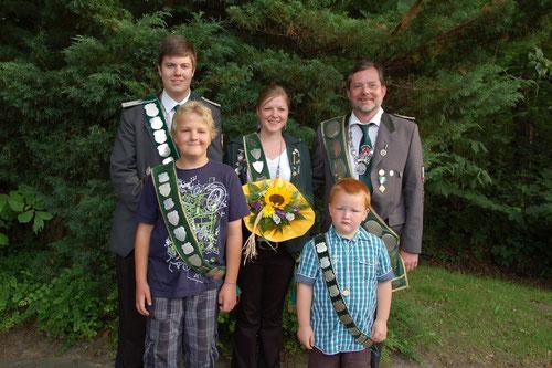 Würdenträger des Neuhäuser Schützenfestes 2011