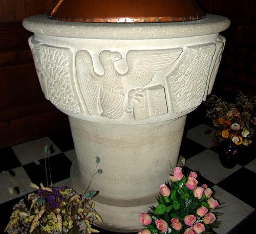 Fonts Baptismaux de l'église Notre-Dame de Doullens