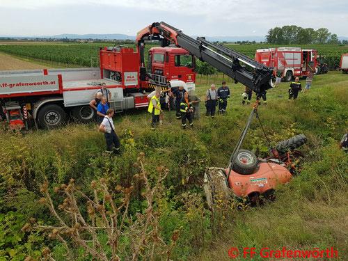 Feuerwehr, Blaulicht, FF Grafenwörth, Einsatzmarathon