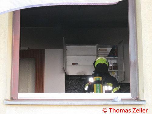 Feuerwehr; Blaulicht; BFV Knittelfeld; Knittelfeld; Wohnungsbrand;