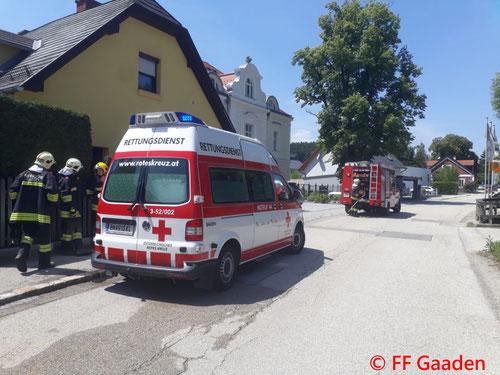 © Freiwillige Feuerwehr Gaaden