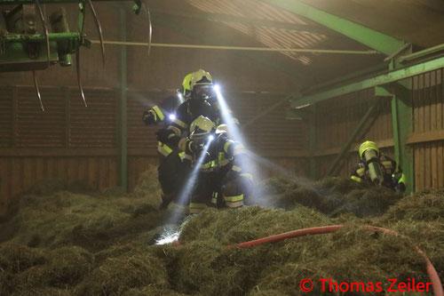 Feuerwehr, Blaulicht, BFV Knittelfeld, Brand, Wirtschaftsgebäude, Gaal