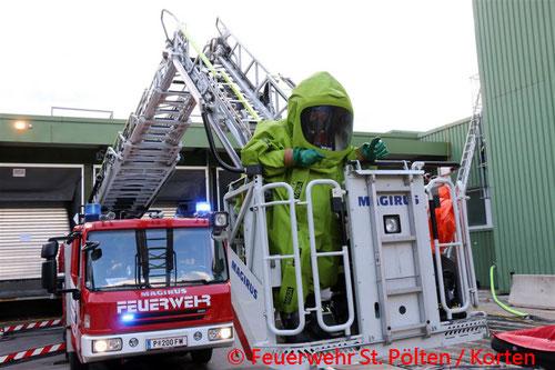© Feuerwehr St. Pölten / Korten