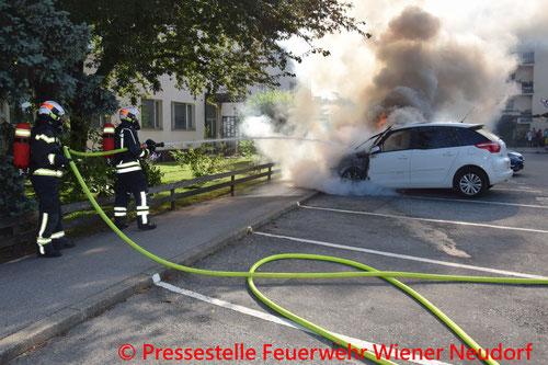 © Pressestelle Feuerwehr Wiener Neudorf