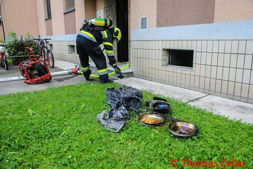 Feuerwehr, Blaulicht, BFV Knittelfeld, Tauchdienst, Brand