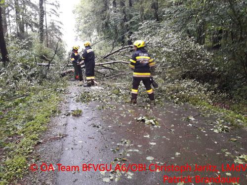 Feuerwehr, Blaulicht, BFVGU Abschnitt 6, Graz-Umgebung, Berndorf, Hitzendorf, Unwetter