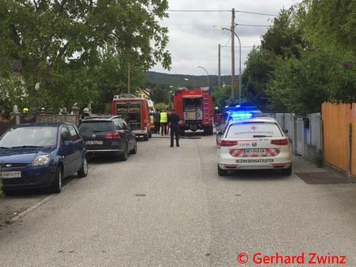 Feuerwehr, Blaulicht, Brand, Thann, Ternitz