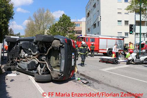 © Presseteam der Freiwilligen Feuerwehr Maria Enzersdorf/Florian Zeilinger
