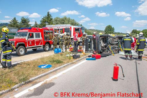 © Bezirksfeuerwehrkommando Krems/Benjamin Flatschart