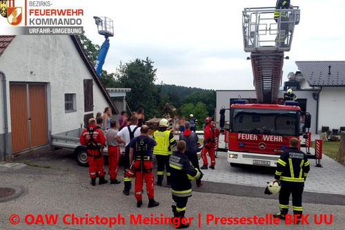 © OAW Christoph Meisinger/Pressestelle Bezirksfeuerwehrkommando Urfahr-Umgebung