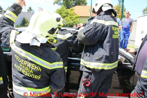 © Michelle Schallagruber/Freiwillige Feuerwehr Maria Enzersdorf