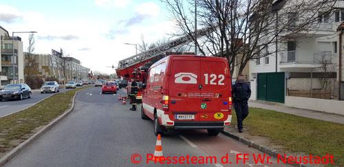 Feuerwehr; Blaulicht; FF Wiener Neustadt; Brand, Technisch;