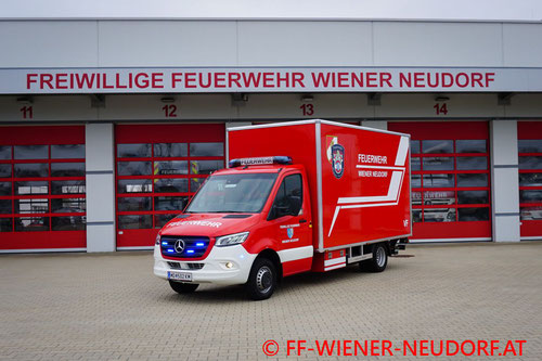 Feuerwehr, Blaulicht, FF Wiener Neudorf, Neues Versogungsfahrzeug