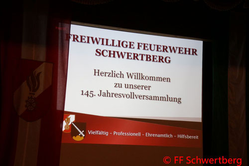 Feuerwehr, Blaulicht, Jahresvollversammlung, Schwertberg