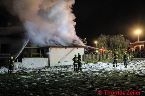 Feuerwehr; Blaulicht; BFV Knittelfeld; Brand; Wohnhaus; Kobenz;