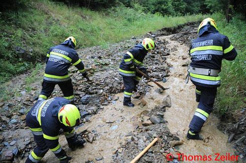 Feuerwehr; Blaulicht; BFV Knittelfeld; Unwetter;