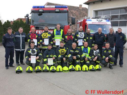 Feuerwehr, Blaulicht, Ausbildungsprüfung Technischer Einsatz, FF Wullersdorf
